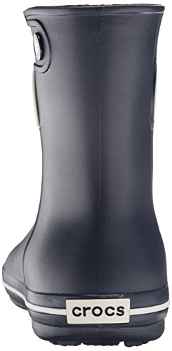 Crocs Jaunt Shorty Damen Kurzschaft Gummistiefel,  Blau (Navy 410),  39/40 EU (7 Damen UK) -