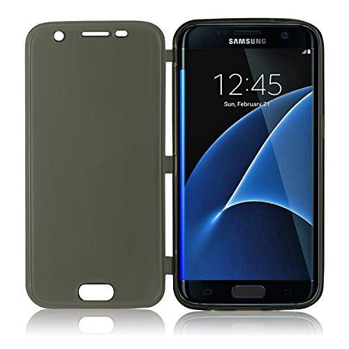 Housse de protection pour Apple iPhone 5/5S–slim case en mat de PrimaCase Galaxy S6 Edge Plus (S6 Edge+) 07.Gold 01.Schwarz