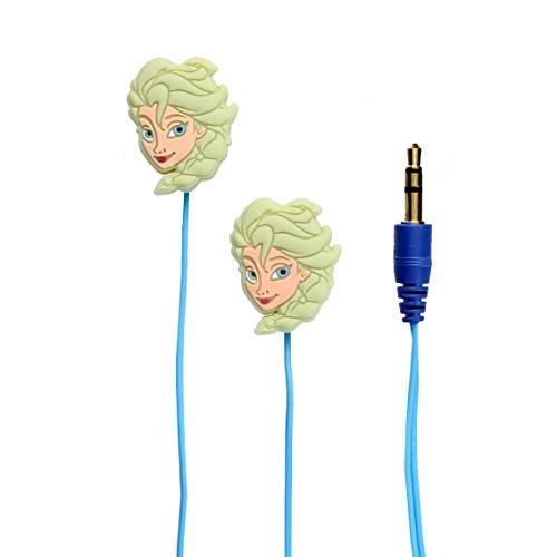 Disney Official Merchandise Charakter In-Ear Kopfhörer - Frozen Design mit Elsa