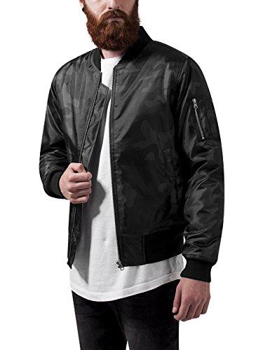 Preisvergleich Produktbild Urban Classics Herren Jacke Camo Basic Bomber Jacket, Mehrfarbig (Dark Camo 784), Medium