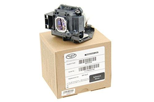Alda PQ Referenz, Lampe ersetzt NP15LP für NEC M271W+, M271X, M300, M300X, M300XC, M311X, ME270X, ME270XC, NP-M230X, NP-M260W, NP-M260X, NP-M271X, NP-M300X, NP-M311X Projektoren, Beamerlampe mit Gehäuse