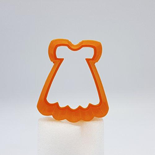 Baby-Kleid Ausstecher, 5cm/8cm/10cm/12cm Größe, 25mm tief (10cm)