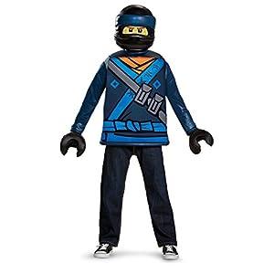 Lego Ninjago Movie- Classic Jay Costume Ragazzi, Blue, s, DISK23490L-PK1 0039897234946 LEGO