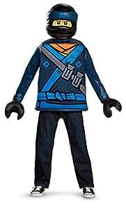 LEGO Ninjago Movie- Classic Jay Disfraz, Color azul, small (Disguise DISK23490L-PK1)