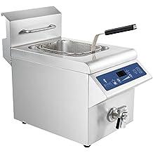 Royal Catering - RCIF-10E - Freidora de inducción - 10 litros - 3.500 watt - Envío Gratuito