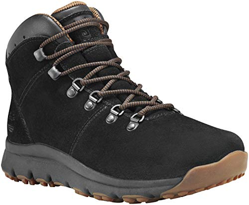 Timberland World Hiker Mid Shoes Herren Black Suede Schuhgröße US 8,5 | EU 42 2018 Schuhe -