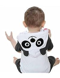 Jiajia de manga corta con capucha para bebé trajes Onesies Animal Disfraz