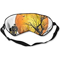 Happy-Halloween-Pumpkin 99% Eyeshade Blinders Sleeping Eye Patch Eye Mask Blindfold For Travel Insomnia Meditation preisvergleich bei billige-tabletten.eu