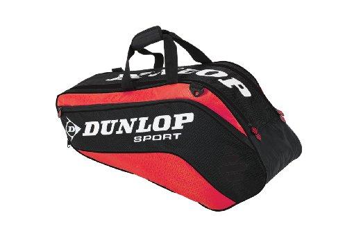 Dunlop Tennistasche Biomimetic Tour 6Rtherm rot/schwarz