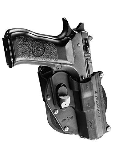 Fobus dissimulé porter Tactique étui pistolet rétention Paddle Holster sécurité avec Trigger Guard Locking System Pour IWI Jericho 941 Steel Frames FB/RB (without rails)