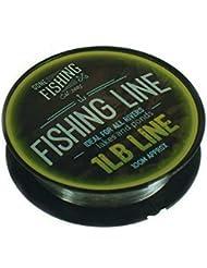 Gone Fishing Hilo de pescar ligero negro Talla:1 lb