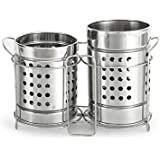 King International Cutlery Holder with Stand Set (Set of 2 pc)