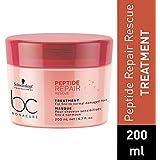Schwarzkopf Professional Bc Peptide Repair Rescue Treatment, Red, 200 ml