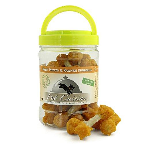 Pet Cuisine Hundesnacks Hundeleckerli Kausnacks, Süßkartoffel Kauknochen, 340g - 4