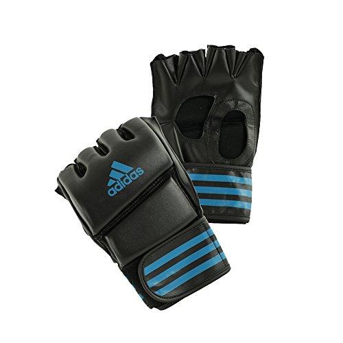 adidas MMA-Handschuhe Grappling Training Glove, Schwarz/Blau, M, ADICSG08-2