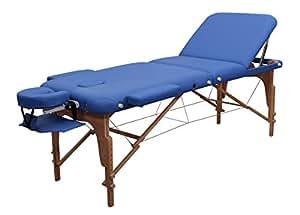 Massageliege Zen PhysioTop Königsblau