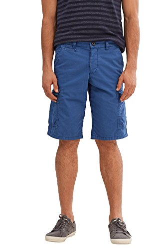 edc by ESPRIT Herren Shorts Blau (Blue 430)