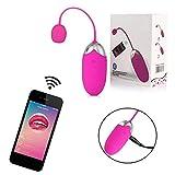 SchwarzSex 10 Geschwindigkeiten USB Handy APP Steuerung Smart-APP Vibrator Vagina Massage...