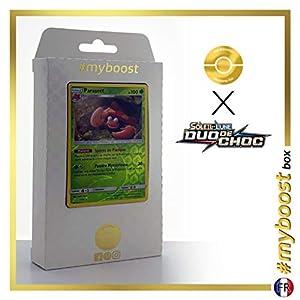 Parasect 7/181 Holo Reverse - #myboost X Soleil & Lune 9 Duo de Choc - Box de 10 Cartas Pokémon Francés