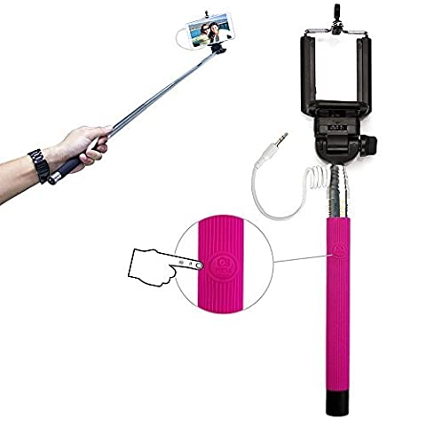Xtra-Funky Exclusif bouton-poussoir universel exploité monopode Selfie stick bâton avec