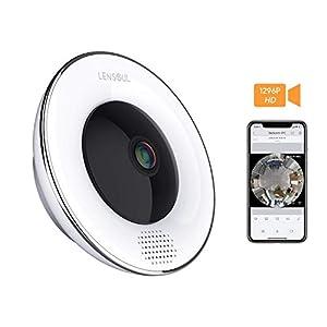 camaras seguridad hogar: Cámara de vigilancia para el hogar Lensoul 1536P HD IP WiFi Cámara de SeguridadC...