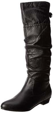 Steve Madden, Damen Stiefel & Stiefeletten  braun hautfarben, schwarz - schwarz - Größe: 39