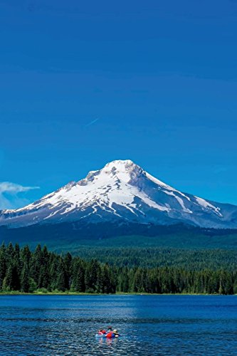 Mt. Hood and Trillium Lake in Oregon Journal: 150 page lined notebook/diary (Mt Hood)