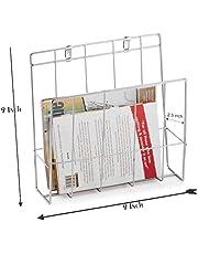 T-Lite Magazine Holder for Living Room, Stainless Steel Magazine Paper Holder