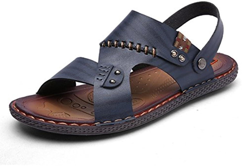 Sandalias De Moda para Hombre,Zapatillas Transpirables Antideslizante