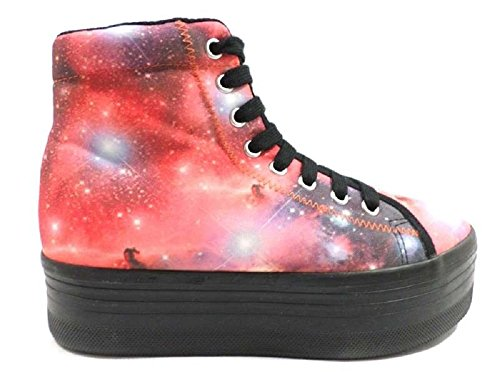 Femme JC PLAY by JEFFREY CAMPBELL 39 Sneakers / Basket mode Talon compensés MultiCouleur AY800