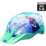#8: Bell Sports Disney Frozen Self-Adjust Bike Helmet, Child, Stylish, Safe And Cool, For Kids 5 to 8 years, Aqua Blue