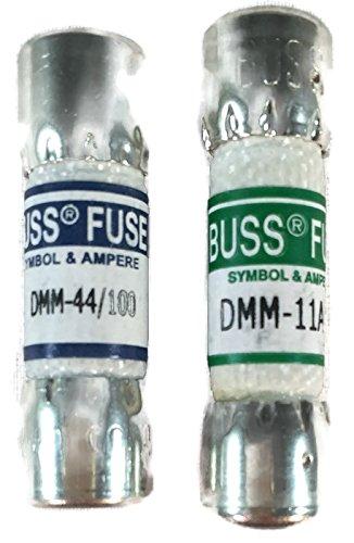 1 Combo Pack (COMBO PACK: 1Stück Fluke 80329311AMP 1000V und 1Stück Fluke 943121440MA 1000V Fluke Digital Multimeter Ersatz Sicherung)