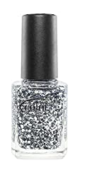Color Club Backstage Pass Glitters Nail Polish, Platinum Glitter, Platinum Record, .05 Ounce