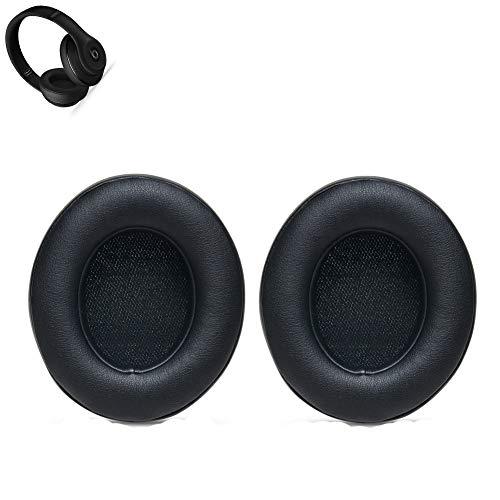 Ersatz Ohrpolster Ear Pad Kissen für Beats By Dr. Dre Studio 2.0 Wired, Studio 2.0 Wireless Over-Ear Kopfhörer (Schwarz) Audio Ear Pads