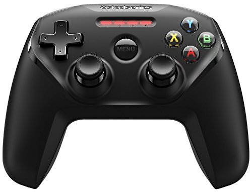 SteelSeries Nimbus, Wireless Gaming-Controller, Bluetooth, 12 Tasten, Wiederaufladbar, (Apple TV / iOS / iPad / iPhone / iPod Touch / Mac) - Schwarz