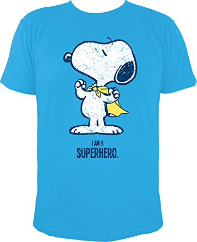 T-Shirt Die Peanuts: Snoopy Superheld / I AM A SUPERHERO ()