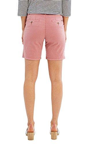 Esprit 047ee1c005, Short Femme Rose (Blush)