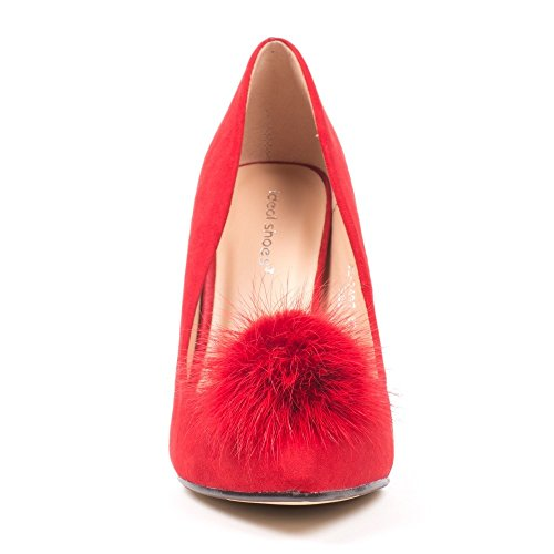 Ideal Shoes ,  Scarpe col tacco donna Rosso