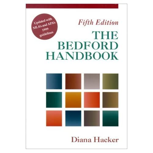 The Bedford Handbook by Diana Hacker (2000-07-01)