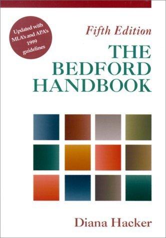 The Bedford Handbook by Diana Hacker (2000-07-01) par Diana Hacker