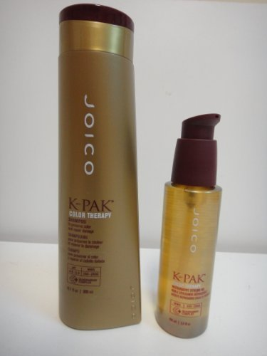 Joico K-Pack Color Therapy Shampoo 10oz & Color Therapy Restorative Styling Oil 3.5oz DUO by Joico