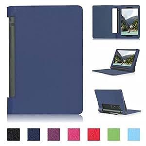 quality design af9ac 90b5f Tsmine Lenovo Yoga Tab 3 8 8.0-Tablet Flip Case A (Lenovo Yoga Tab 3 8in  Tablet)(Flip Case Navy Blue