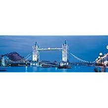 Clementoni Puzzle 39202 - London - Tower Bridge - 1000 pezzi High Quality Collection Panorama