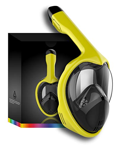 Tooklanet Mascarilla Completa Snorkel Cara, HD 180