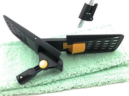 Profi Bodenreinigungsset 40 cm mit 2 Micromöppen thenufil multi und Teleskopstiel