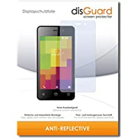 [2 Pack] Nuu Mobile A1+ Screen Protector Film disGuard® [Anti-Reflex] Anti-Glare, Anti-Reflective / Scratch Resistant, Bubble-Free Install, Anti-Fingerprint, Anti-Scratch / Film, Protector Film, Screen Guard