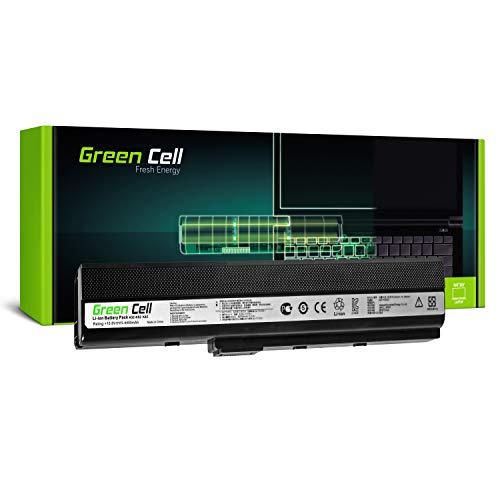 Green Cell Standard Serie A32-K52 Laptop Akku für ASUS A52 K52 K52D K52F K52J K52JC K52JE K52JR K52JT K52N X52 X52J X52N (6 Zellen 4400mAh 10.8V Schwarz)