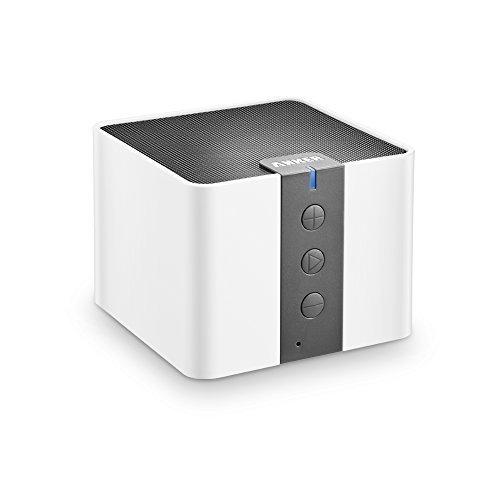 Anker A7908 Mobiler Tragbarer Bluetooth 4.0 Lautsprecher Speaker Boombox mit 4W Treiber & 15-20 Stunden Wiedergabedauer & kristallklarer Klang (Weiß)