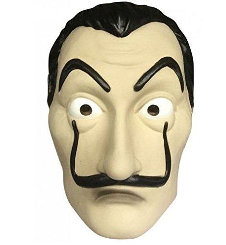 Homelex Dali Maske & Kleidung Salvador LA CASA De Papel Geld Heist Halloween Party Maske (Dali-Maske)