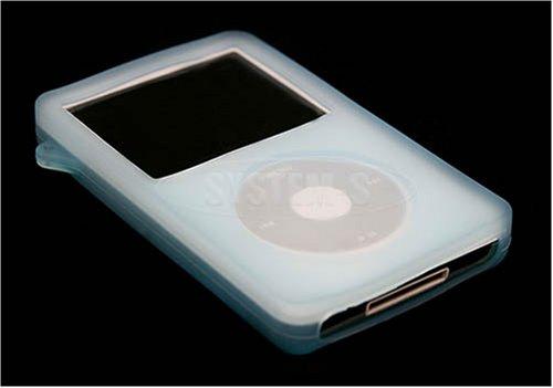 System-S Skin Silicon Hülle für Apple Ipod Video 60 blau Silicon Case Ipod Video